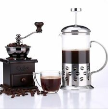 French Press Teapot Glass Tea Pot Kettle With Stainless Steel Infuser Filter Tea