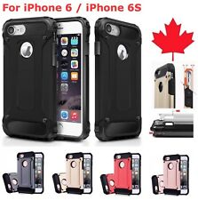 For iPhone 6 & iPhone 6S - Shockproof Heavy Duty Armour Hybrid Cover Phone Case