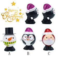 Funny Toys Cute Clockwork Chain Wind Up Penguin Kids Santa Claus For Xmas Gift