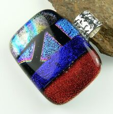 7 pendant options: With cord, in gift box, genuine dichroic glass pendant