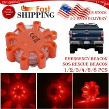 9 LED Mini Roof Top Emergency Safety Warning Flash Strobe Recovery Beacon Light