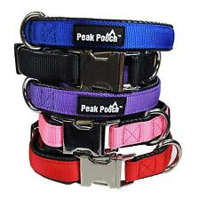 Downtown Pet Supply Adjustable Quick Release Dog Collar with Metal Buckle