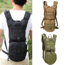 Outdoor Camping Hiking Tactical Backpack Hydration Pack + 3L Water Bladder Exoti