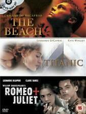 Titanic/The Beach/Romeo and Juliet DVD (2004) Leonardo DiCaprio