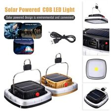 LED Solar Lantern USB Rechargeable Camping Tent Light Outdoor Fishing Lamp JN