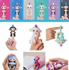New Finger Baby Monkey Interactive Smart Electronic Kids Toy Pet 2018 Real Image