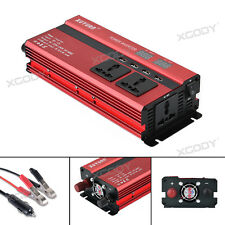3000/4000/5000W AC 110V Power Inverter 4 USB Outlet Converter Adapter Camping
