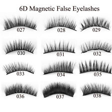 4Pcs Triple Magnetic False Eyelashes Extension Tools Full Coverage Lashes Thick~