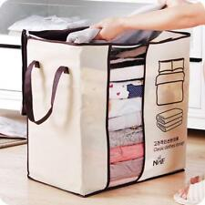 Storage Bag Non-Woven Family Save Space Under Closet Clothes Divider Organizers