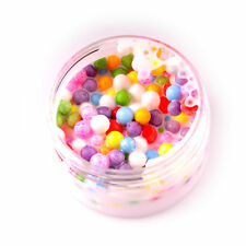 Ice Cream Beads Slime White Based Slime With mixed colors Foam 2 oz 70g