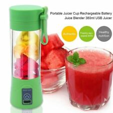 380ml USB Mini Portable Juicer Cup Extractor Household Smoothie Maker Blender