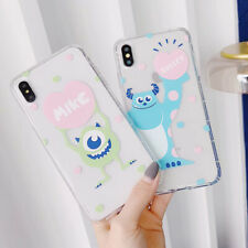 Disney Cute Mr.Q Silicone Phone Case Cover For iPhone X XS Max XR 6 7 8 Plus