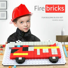 234pcs Multi Plastic Truck Puzzle DIY Building Block Set Educational Kids Toys