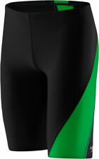 Speedo Powerflex Eco Revolve Splice Jammer Men's Swimsuit Black/Green