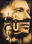 The X-Files - The Complete Sixth Season DVD 2002 6-Disc Set Brand New Sealed!