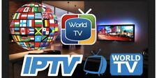 iptv premium subscription 1-12 months Vod/live Events/ppv private server
