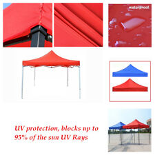10x10ft Rain Proof Canopy Top Replacement Patio Gazebo UV protection Tent Cover