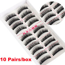 Thick Eye Lashes Extension 3D Faux Mink Hair False Eyelashes Wispy Fluffy