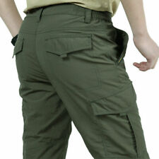 Men Tactical Work Combat Quick Dry Light Weight Cargo Hiking Outdoor Cargo Pants