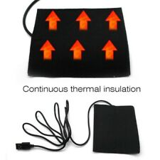 8 in1 USB Electric Clothes Heating Pad 5 Gear Vest Winter Thermal Jacket Kit