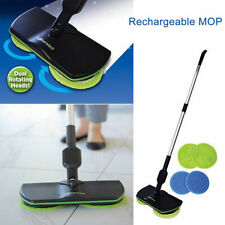 Wireless Rechargeable Electric Mop Reusable Cleaning Pads Spin Powered Floor