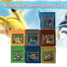 7 Colors GBC Pokemon Game Card GameBoy Carts For Nintendo Version Cartridge New