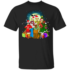 Scooby-doo Family Christmas Mens Short Sleeve T-Shirt Black Cotton Cool Tee Gift