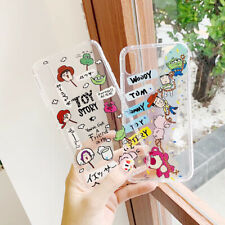 For iPhone X XS Max XR 6 7 8 Cute Toy Story Silicone Cartoon Phone Case Cover