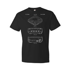 SEGA Dreamcast Console Shirt Gamer Gift Video Game Tee Dreamcast Blueprint