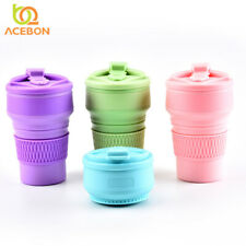 Collapsible Silicone Folding Coffee KeepCup Reusable (350ml)