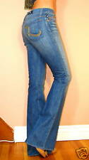 $200+ Rock&Republic Roth Flare Low Rise Jeans Auxilary Blue Medium Vintage 23