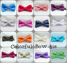 BOY TUXEDO BOW TIE  MANY COLOR  ALL SIZE