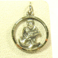 Framed Anson Zodiac Charm, Sterling Silver or Silvertone, various signs