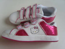 GIRLS HELLO KITTY TRAINERS TWISTER 2 (WHITE/PINK)