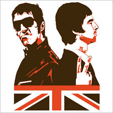 Oasis, Liam & Noel Gallagher, Britpop, T-Shirt, NEW!