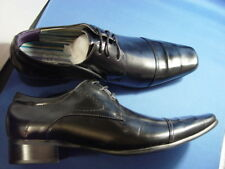 "NIB OTTO ""OXFORDS"" ITALIAN STYLE DRESS SHOES BLACK"