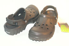 Crocs OFF ROAD Chocolate Men Women All Size 4 5 6 7 8 9 10 11 12 13