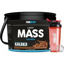 4KG LEAN MASS GAIN WEIGHT GAINER WHEY PROTEIN POWDER + FREE SHAKER