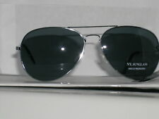 Aviator Metal Framed Sunglasses With Soft Pouch 4 styles to choose from