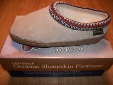 OLD FRIEND WOMEN'S SHEEPSKIN SLIPPER CLOG SIZE 6 TO 11