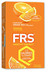 FRS Healthy Energy Drink Powders 10 Bx Any Comb.140ct.
