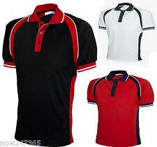 Mens Premium Polo Shirt Size XS to 3XL Breathable Ultra Cool Sports