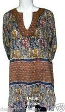Tolani Ginger 7139 Denim Bronze Tunic