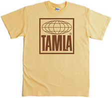 Tamla Records T-Shirt 4 Colours Screenprinted Motown Stax Northern 60's Soul Mod