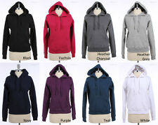 Long Sleeve Pullover Hoodie with Thermal Hood Various Color and Size