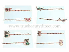 CHOOSE A TYPE ANIMAL GOLD HAIRSLIDES CLIPS GRIPS HAIR ACCESSORIES MORE IN SHOP