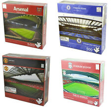 OFFICIAL FOOTBALL TEAM - 500PC STADIUM JIGSAW PUZZLE TOY GIFT XMAS - CHOOSE TEAM