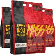 PVL Mutant Mass Weight Gainer 6.8kg  x 2 = 13.6kg / 13600g / 30lbs / 52 Servings