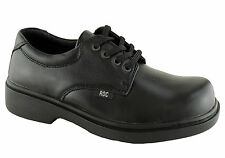 ROC BOOTS STROBE OLDER BOYS/MENS COMFORTABLE QUALITY LEATHER SCHOOL SHOES
