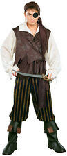 Mens Adult Pirates Of The Seven Seas Caribbean Pirate Swashbuckler Costume